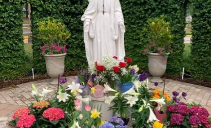 Our Lady of Grace Garden Memorial Bricks